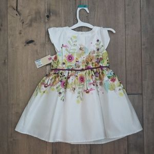 Cherokee Dresses - Girls 4T Floral Dress NEW with Tags